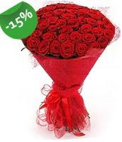 51 adet kırmızı gül buketi özel hissedenlere  Kırşehir hediye çiçek yolla