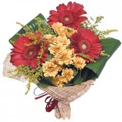 karışık mevsim buketi  Kırşehir ucuz çiçek gönder