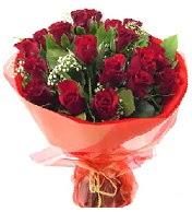 12 adet görsel bir buket tanzimi  Kırşehir çiçekçiler