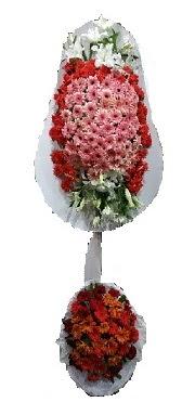 çift katlı düğün açılış sepeti  Kırşehir çiçekçi mağazası
