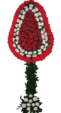 Çift katlı düğün nikah açılış çiçek modeli  Kırşehir ucuz çiçek gönder