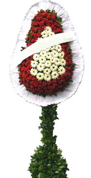 Çift katlı düğün nikah açılış çiçek modeli  Kırşehir online çiçekçi , çiçek siparişi