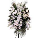 Kırşehir çiçek siparişi vermek  Ferforje beyaz renkli kazablanka