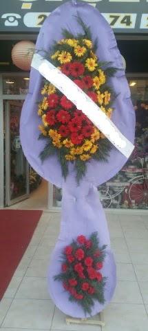 Çift katlı nikah düğüne çiçek modeli  Kırşehir internetten çiçek satışı