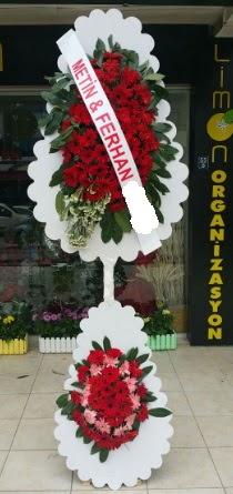 Çift katlı düğün nikah çiçeği modeli  Kırşehir hediye çiçek yolla