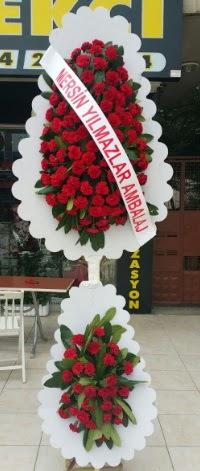 Çift katlı düğün nikah çiçeği modeli  Kırşehir çiçek , çiçekçi , çiçekçilik