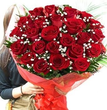 Kız isteme çiçeği buketi 33 adet kırmızı gül  Kırşehir çiçek yolla , çiçek gönder , çiçekçi