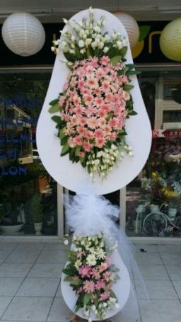 Çift katlı özel şahane sepet çiçeği  Kırşehir çiçek yolla