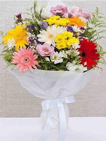 Karışık Mevsim Buketleri  Kırşehir çiçek satışı