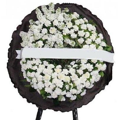 Cenaze çelengi çiçeği modelleri  Kırşehir çiçekçi mağazası