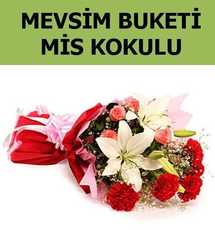 Karışık mevsim buketi mis kokulu bahar  Kırşehir çiçek satışı